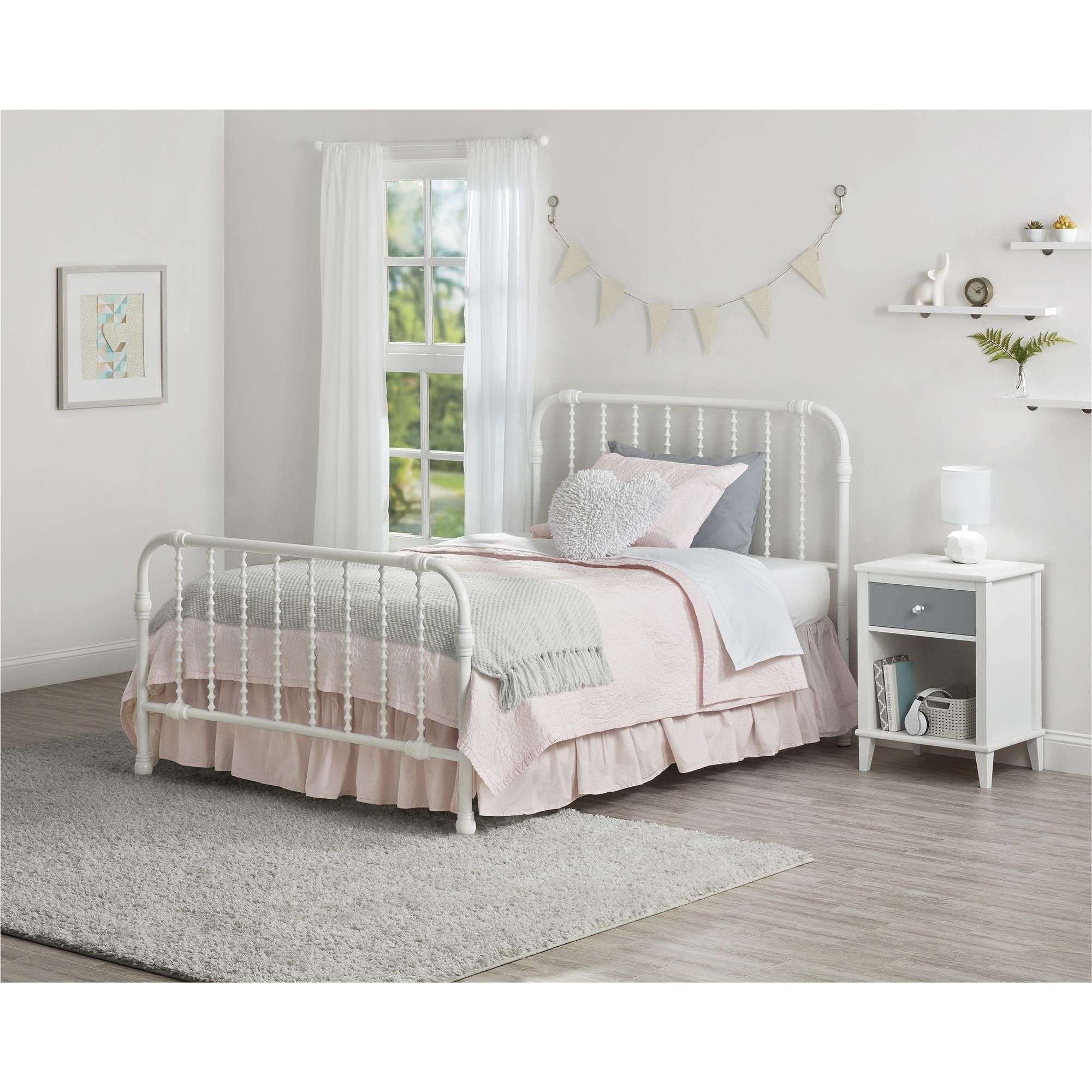 Home Metal beds, Furniture, White metal bed