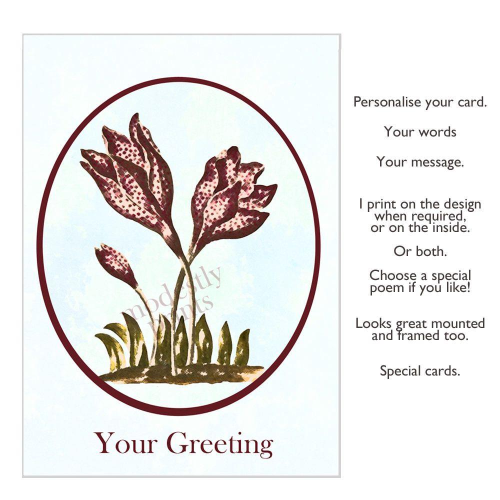 Handmade Greeting Card Birthday Card Wedding Card Hand Made Card