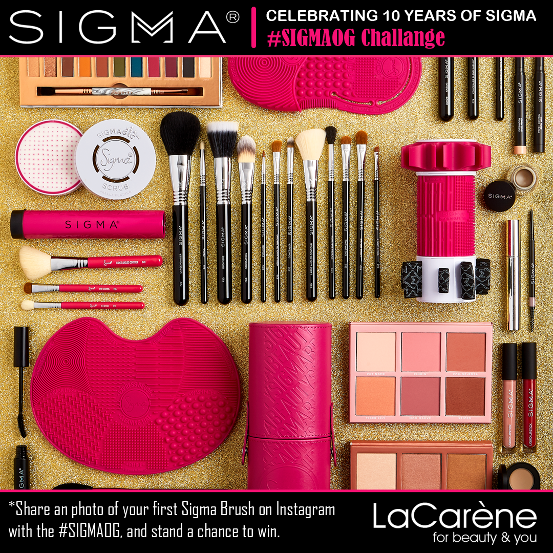 Celebrating 10 Years of Sigma Beauty Now the Ultimate