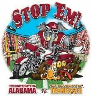 Stop Em! Alabama vs Tennessee Vols