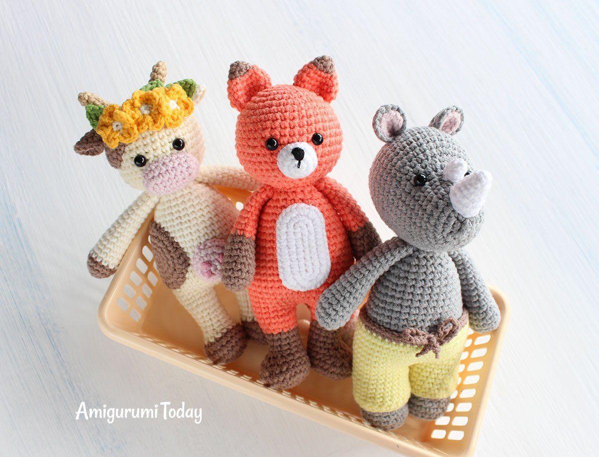 Amigurumi Patronen : Cuddle me toy collection gratis amigurumi patronen