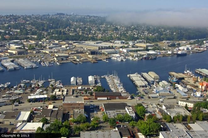 Ballard Seattle | Ballard Mill Marina in Seattle, Washington, United States