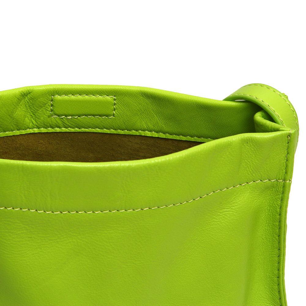 Portofino handbag Lime by Grunenberger 1854