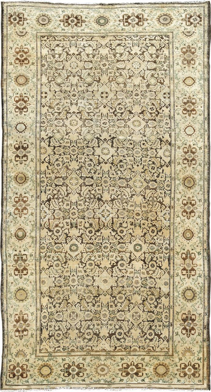 "ANTIQUE MALAYER Origin: PERSIA Size: 5' 2"" x 9' 8"" Rug ID # 234"