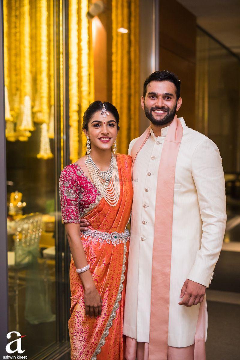 Photo of Photo From Shravya And Sharan's Engagement  – By Ashwin Kireet Photography