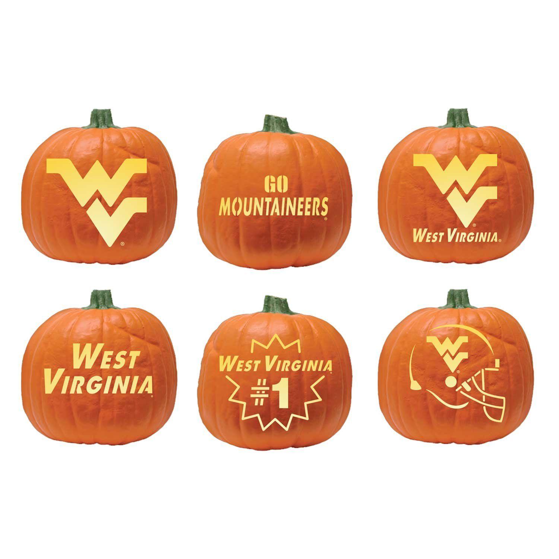 size 40 a030c a53ba NCAA West Virginia Mountaineers Halloween Pumpkin Carving Kit