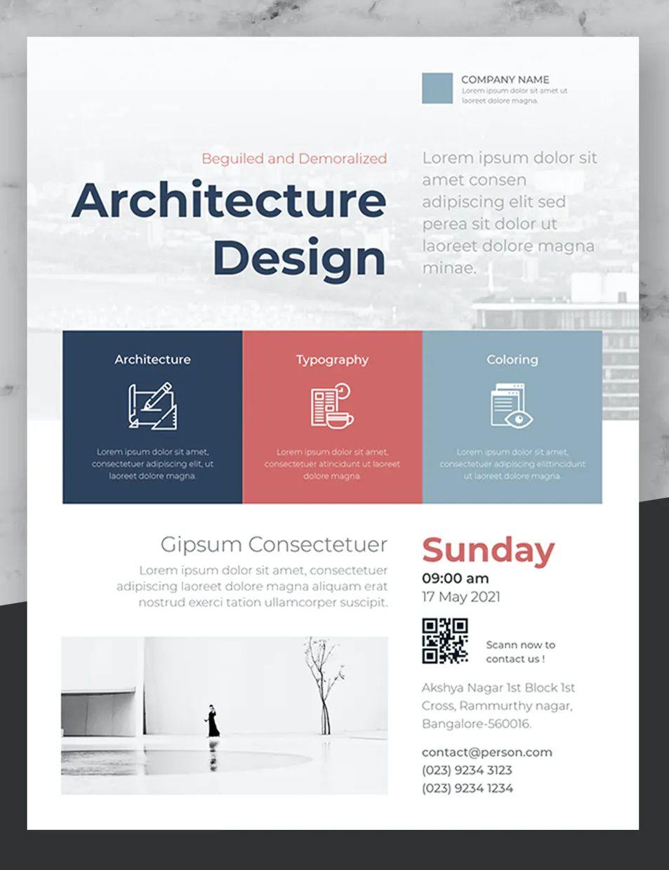 Minimal Business Event Flyer Design In 2020 Flyer Design Templates Event Flyer Event Flyer Templates