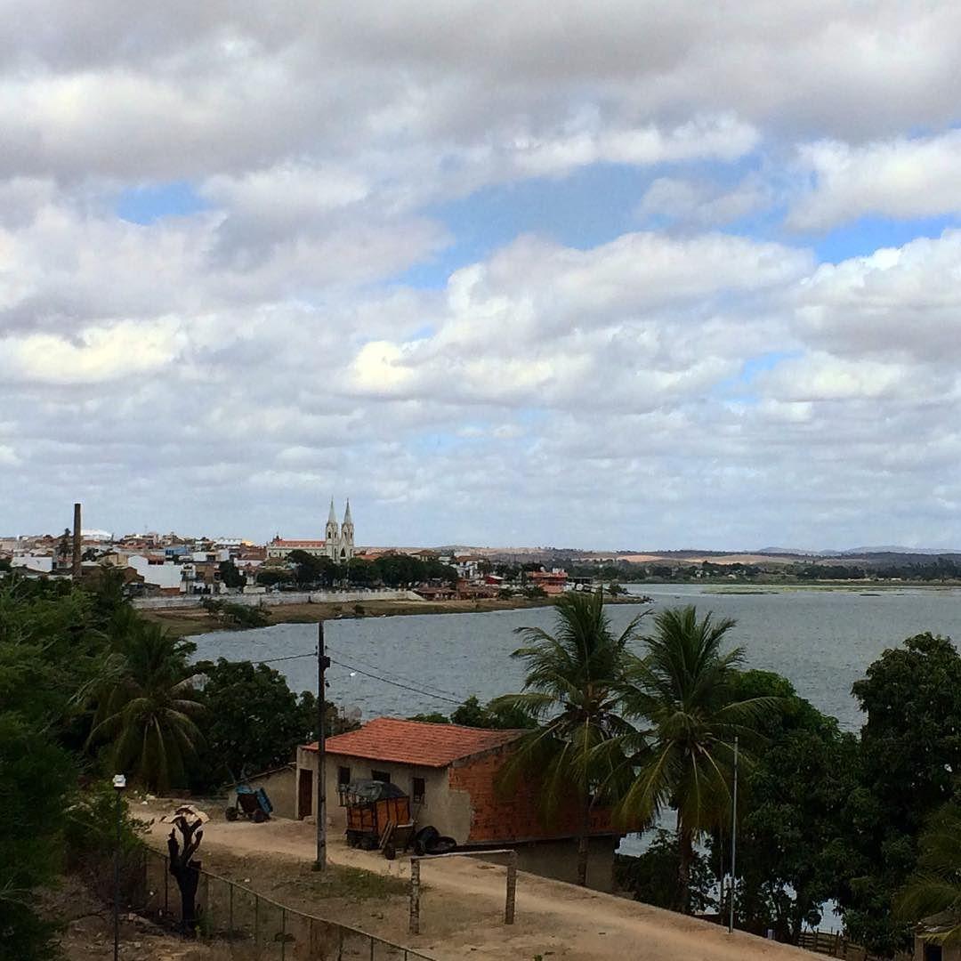 Divisa de Sergipe e Alagoas olha ali o Velho Chico!