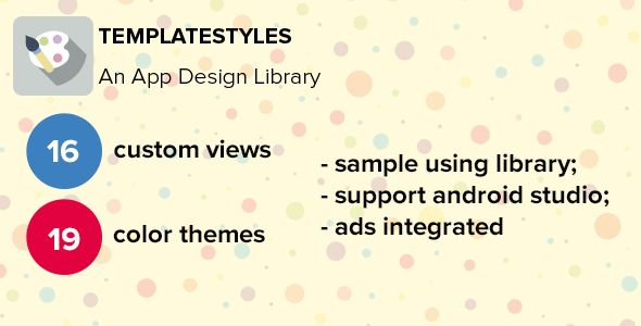 Android UI Material Design Template | Modern Graphic Design