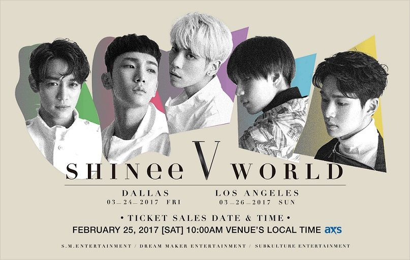 HOT Make Sure To Get Tickets To u0027SHINee World Vu0027 TOUR in the USA - make concert tickets