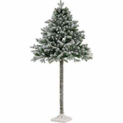 Argos B M Range Christmas Tree With Snow Best Artificial Christmas Trees Half Christmas Tree