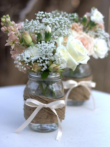 tipos de flores para decorar una boda rstica