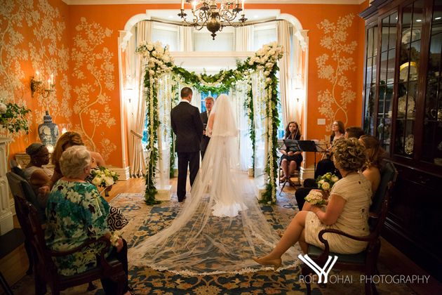 An Art Deco Inspired Wedding At The Bleecker Street Arts Club In NYC