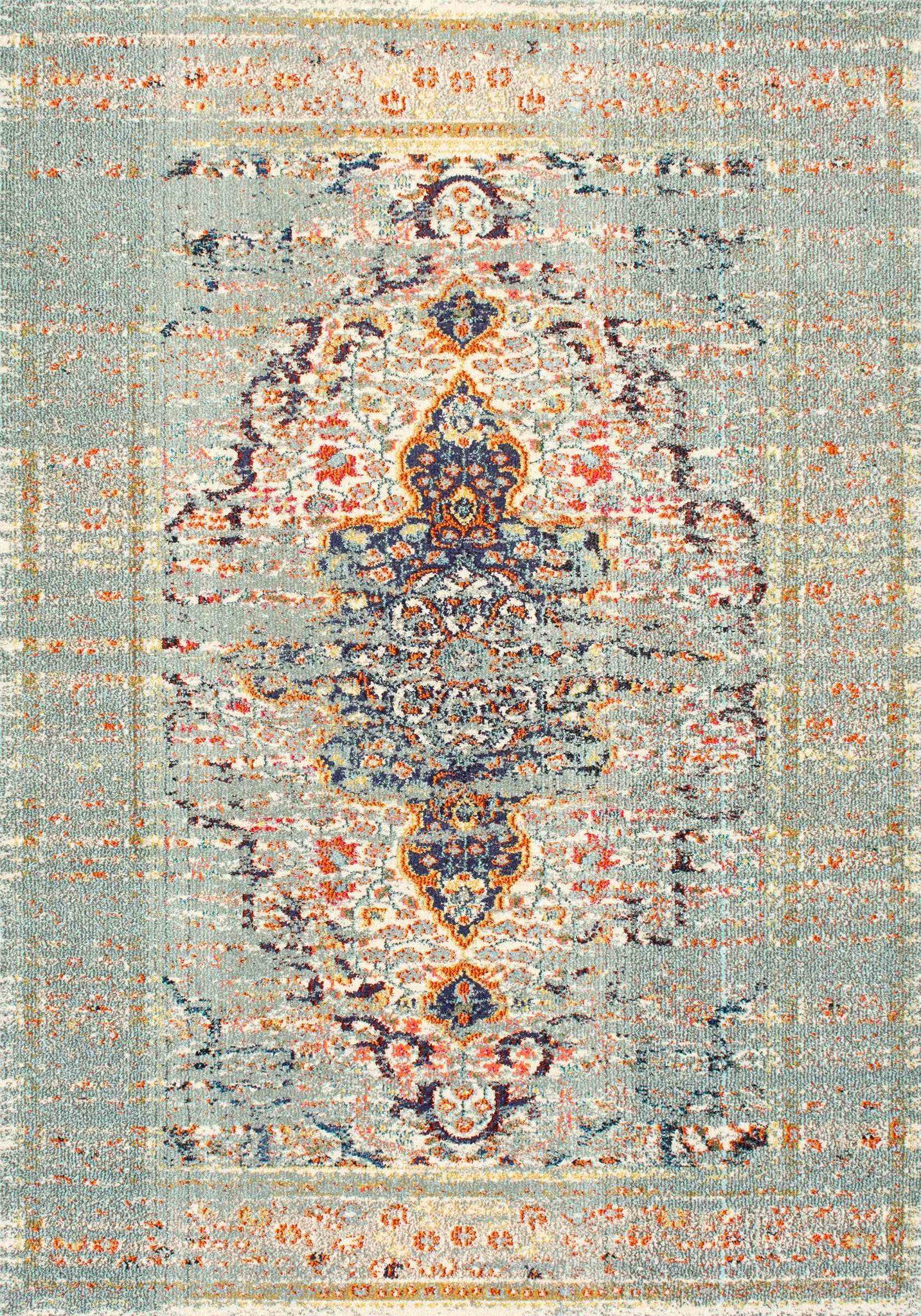 Buy Nuloom Kkcb23a 53077 Nuloom Distressed Persian Sarita Grey Rug With Images Rugs In Living Room