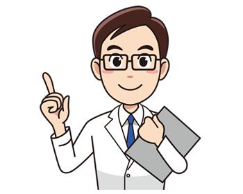 カルテを持った男性の医師(無料イラスト素材) | อาชีพ