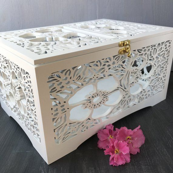 wedding card box with lock for cards wedding envelope box