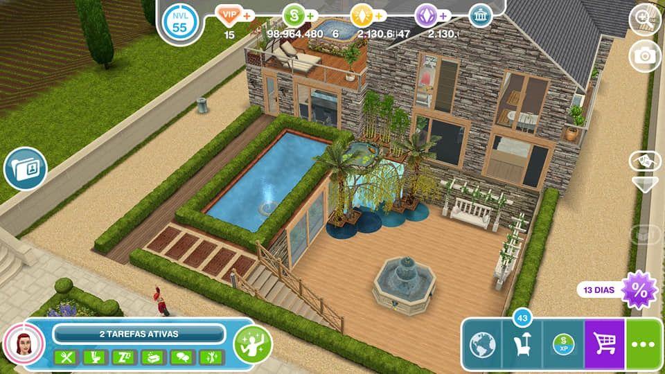 Pin By Ramonaa On The Sims Freeplay Sims Freeplay Houses Sims House Sims House Design