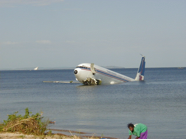 Water Landings Trans Arabian Air Transport Flight 310