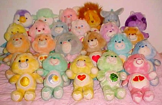 Image result for 1980s care bears plush