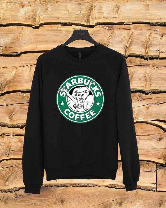 Starbuck Litlle Mermaid sweater Sweatshirt Crewneck by yobaan98