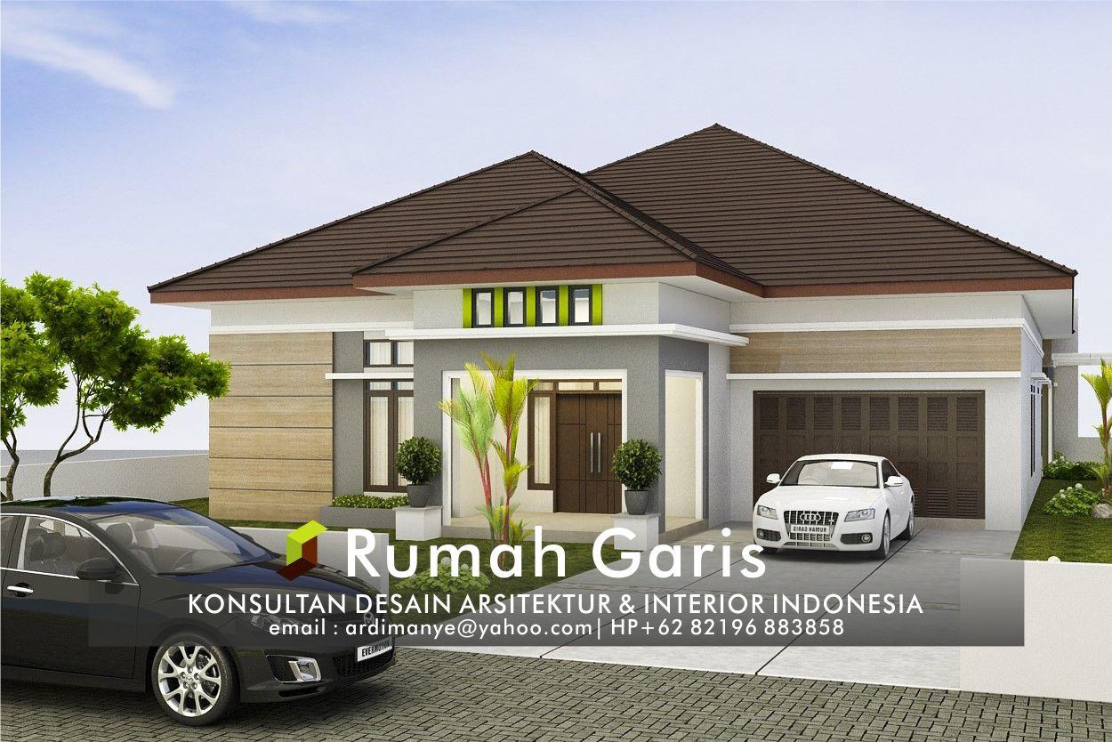 Garasi Mobil Minimalis Desain Rumah Kontemporer Rumah Kontemporer Desain Rumah