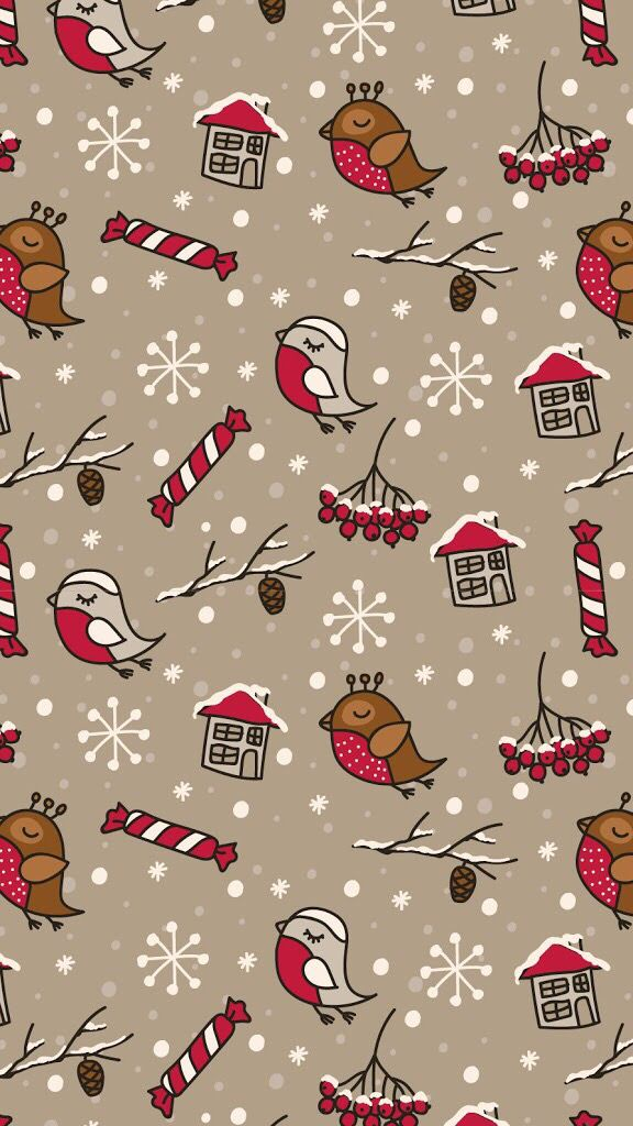 Iphone Wallpaper Christmas Phone Wallpaper Cute Christmas