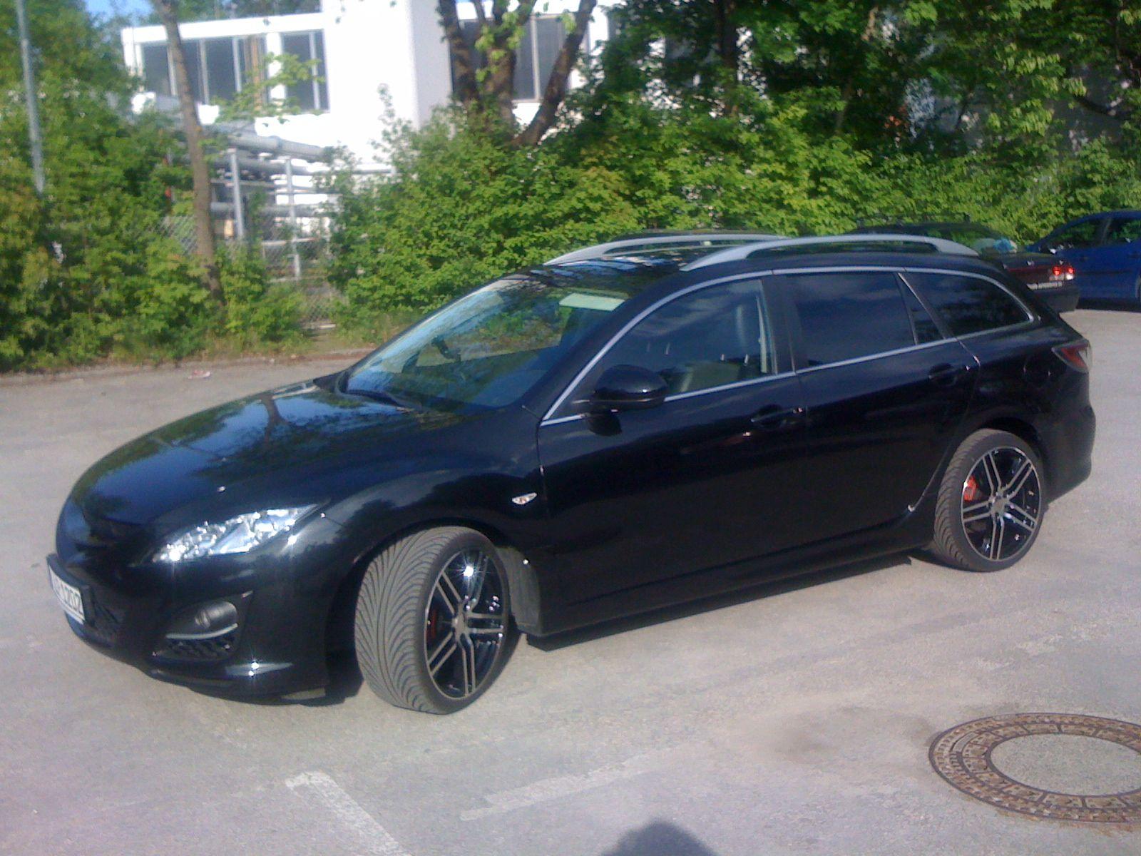 Mazda 6 gh dbv alufelgen mauritius black 8x19 et45 reifen 235 35r19