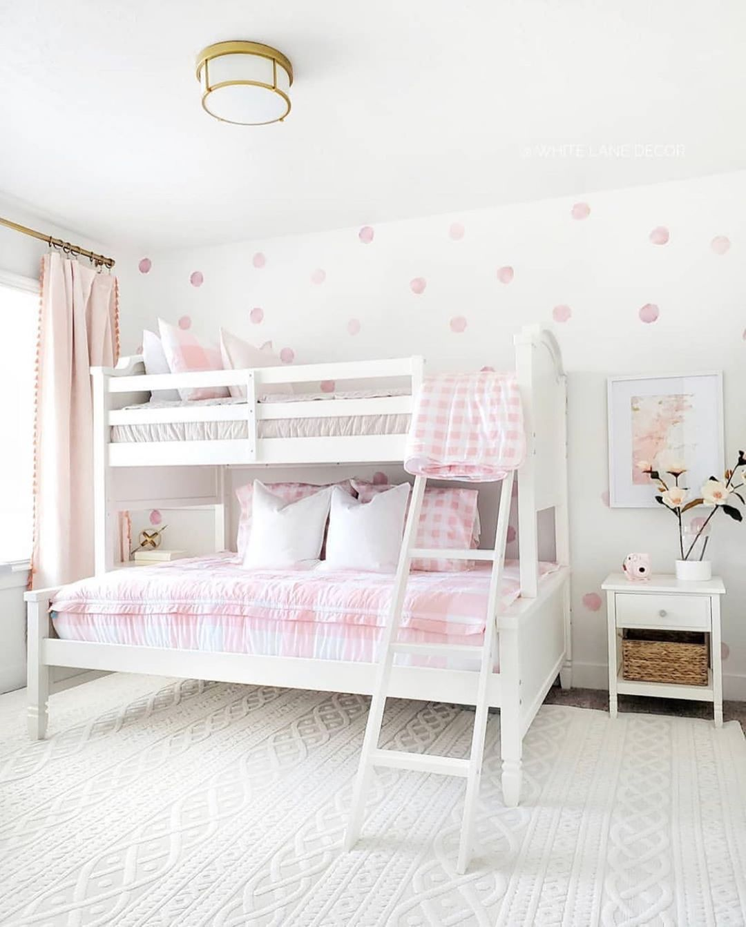 """beddy's (bed•ease) on Instagram: """"This room by @whitelanedecor sure does look PRETTY IN PINK! � We love the combination of prints with the plaid found in our Pink Sugar…"""""""