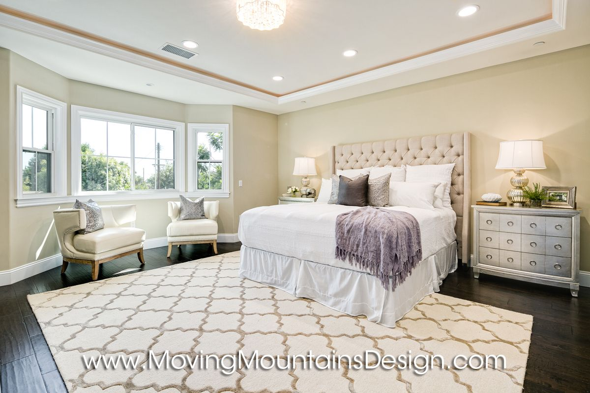 Master Bedroom Temple City home staging project.bedroom. home decor ...