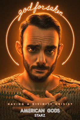 American Gods Season 3 Trailers Clip Featurettes Images And Posters In 2021 American Gods New Movie Posters Starz