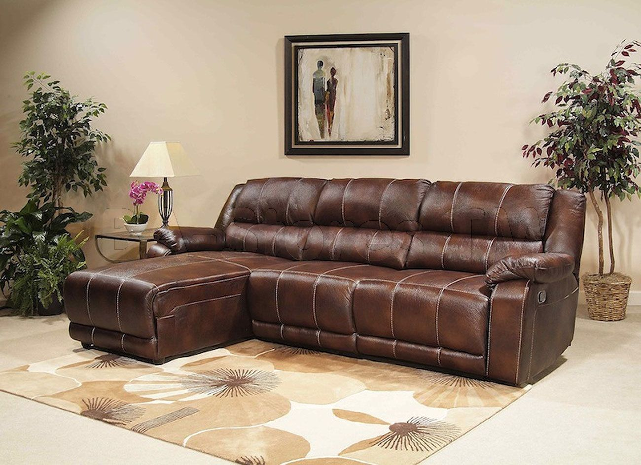 Modern Sectional Sofas Brown Sectional Sofa With Sleeper u Storage http mlr Pinterest Brown sectional sofa Brown sectional and Sectional sofa