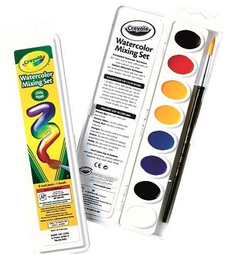 Kids Watercolor Paint Crayola Watercolor Mixing Set With 8