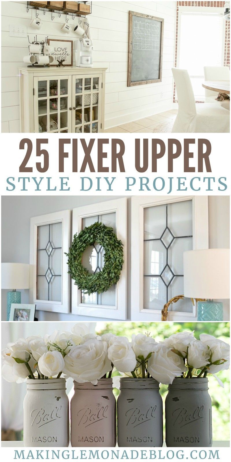 Photo of 25 Fixer Upper Style DIY Projects