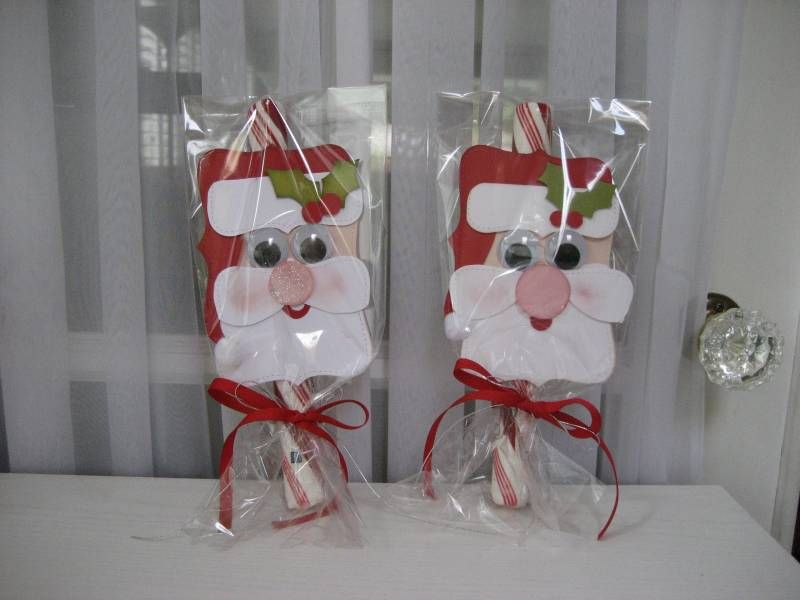 Candy Cane Santas By Forever Designing