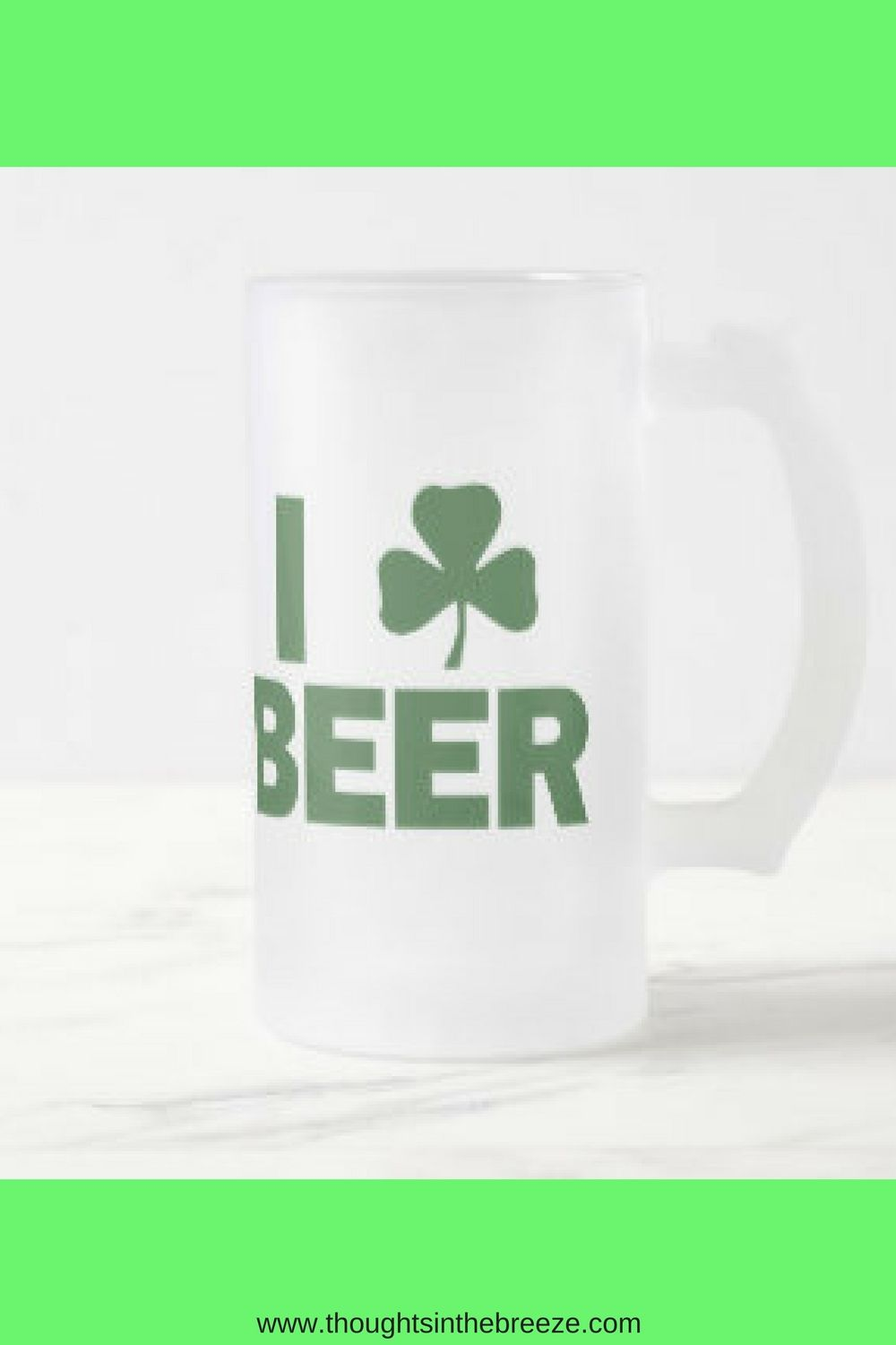 d3ccf6a16 $27.90 So many styles of DIY St. Patrick's Day beer mugs and coffee cups.