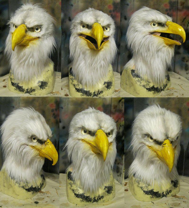 Final Bald Eagle Mask Eagle Mask Bald Eagle Eagle Costume