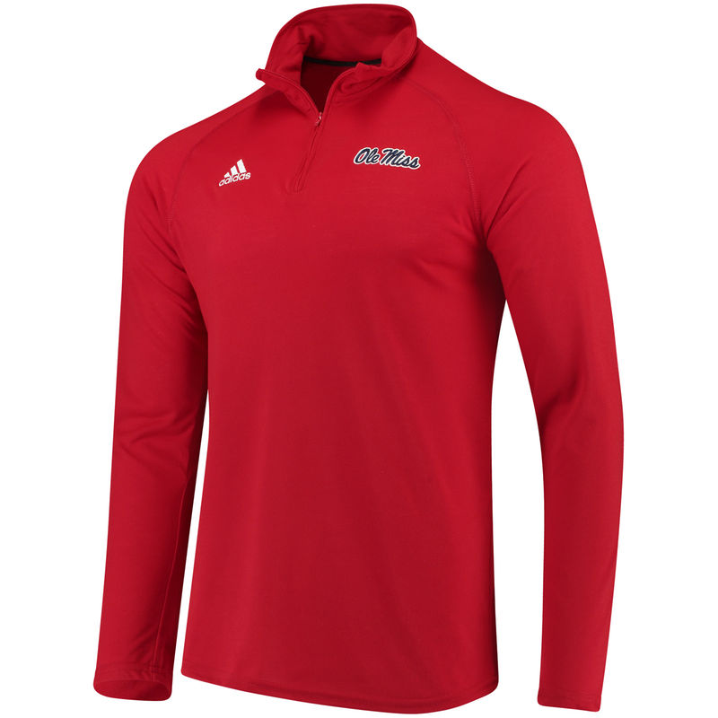 Men's adidas Red Ole Miss Rebels Collegiate Ultimate Quarter