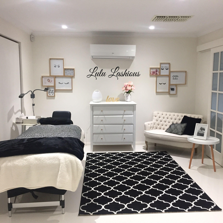 Eyelash Extensions Salon Set Up Ideas: Beauty Salon Decor, Nail Salon