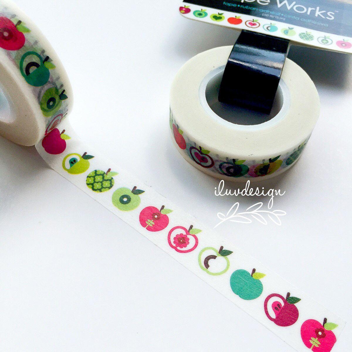 Apple Washi Tape Works