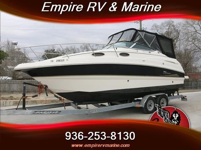 NO RESERVE ! Chaparral 260 Signature Sea Ray Sundancer Bayliner