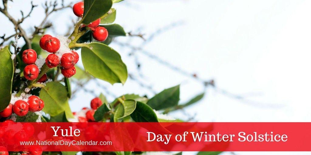YULE Day of Winter Solstice Winter solstice, Yule
