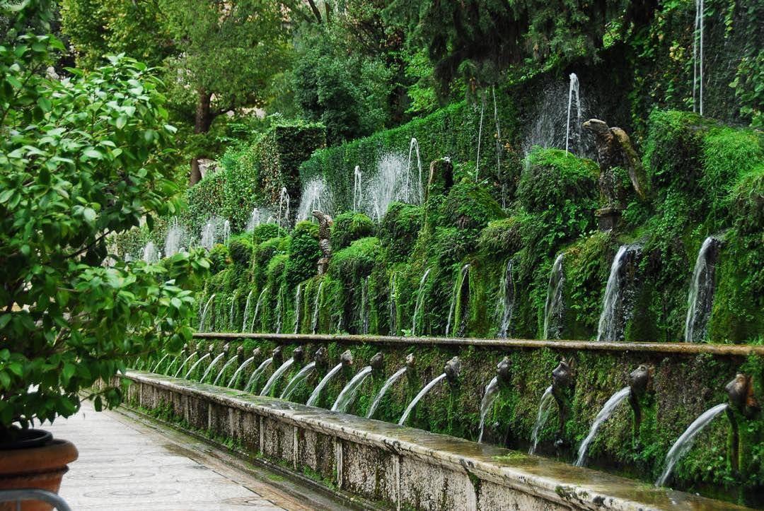 Terrace Of A Hundred Fountains Villa D Este Tivoli Italy I