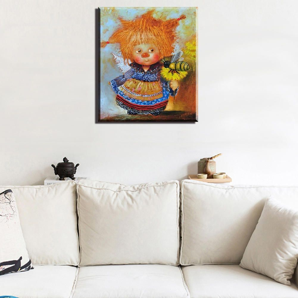 Angel Diamond Painting Cross Stitch Kit Embroidery Angel For Kids Round  Drill Home Decoration Buy