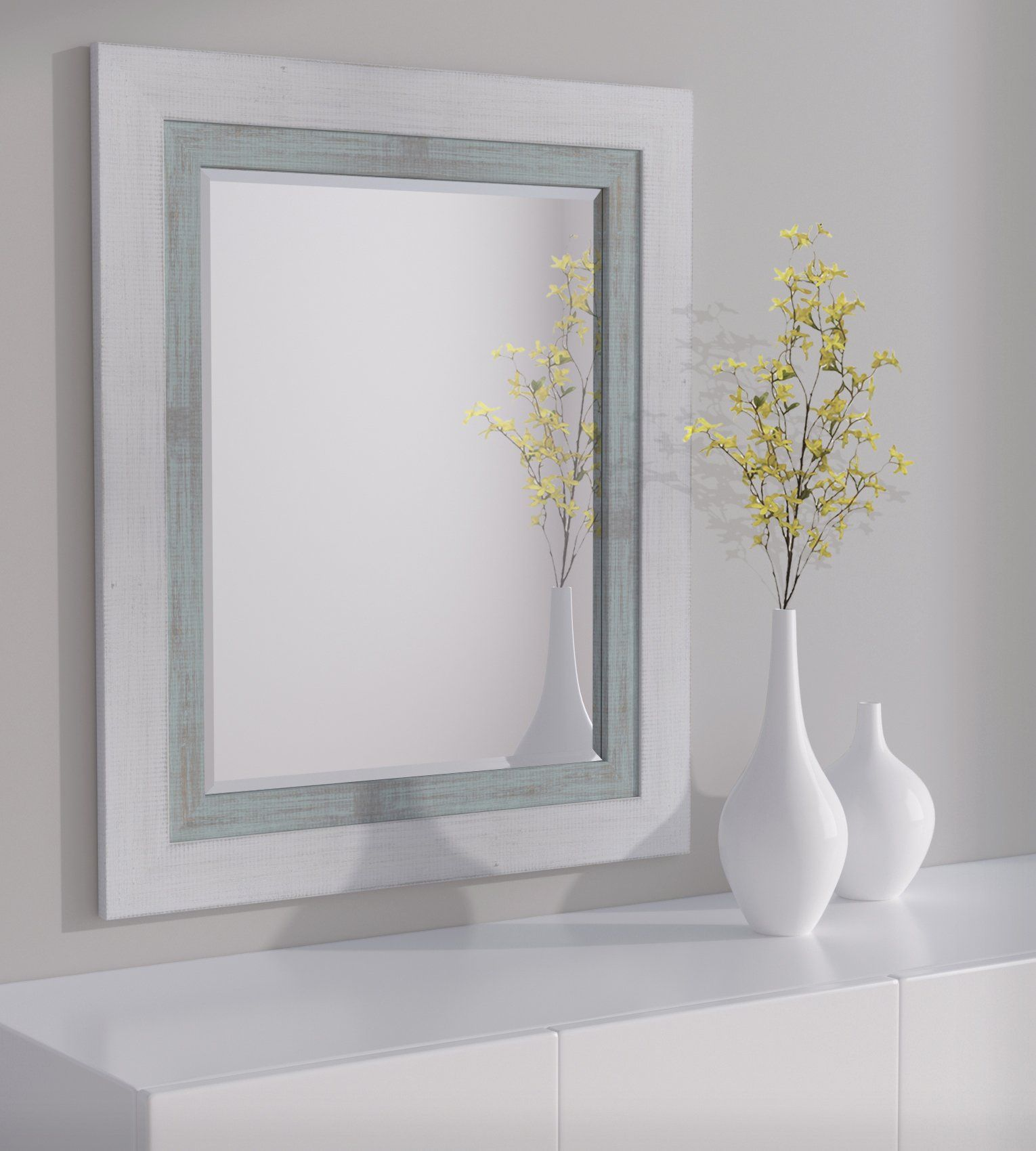 Lnd Reflections Framed Beveled Mirror 30 X36 Or 32 X44