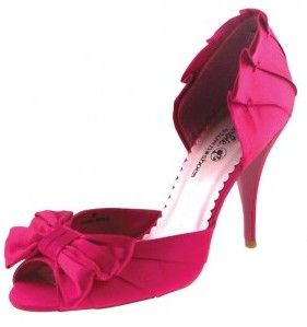 Fuschia Bridesmaid Shoes Wedding 05