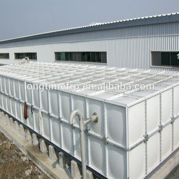 Standard square combined sectional fiberglass frp grp smc food grade