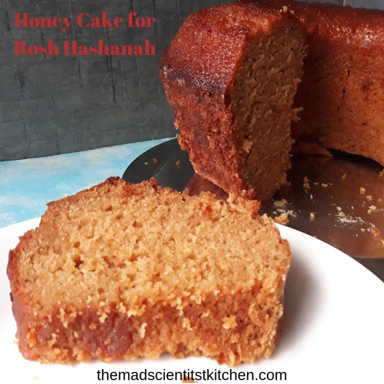 Honey Cake for the Jewish New Year #honeycake
