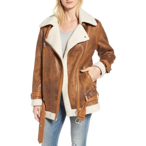 Women's All Over Sherpa Motorcycle Jacket