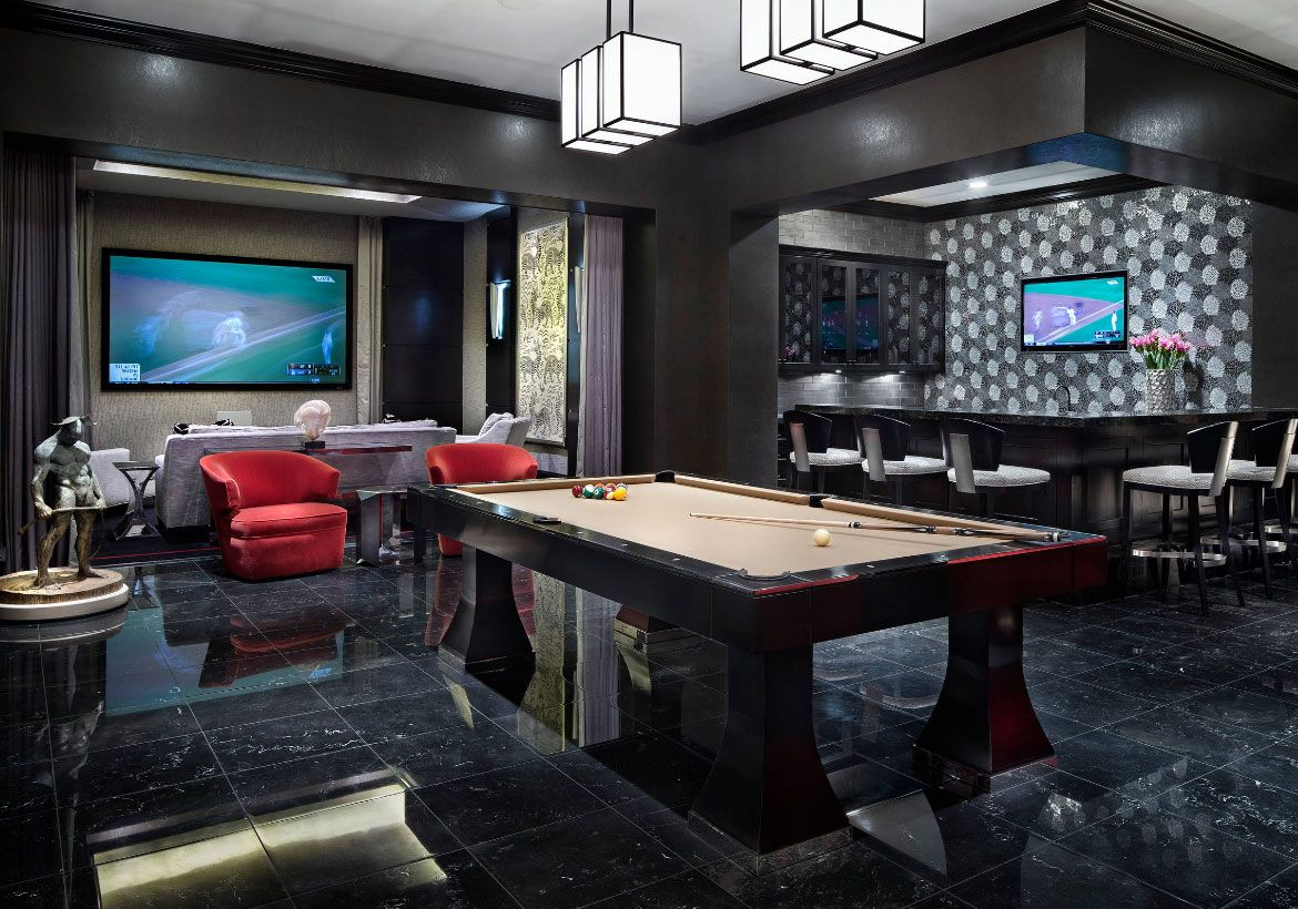 72 Really Cool Modern Basement Ideas Man Cave Home Bar Man Cave Room Modern Basement