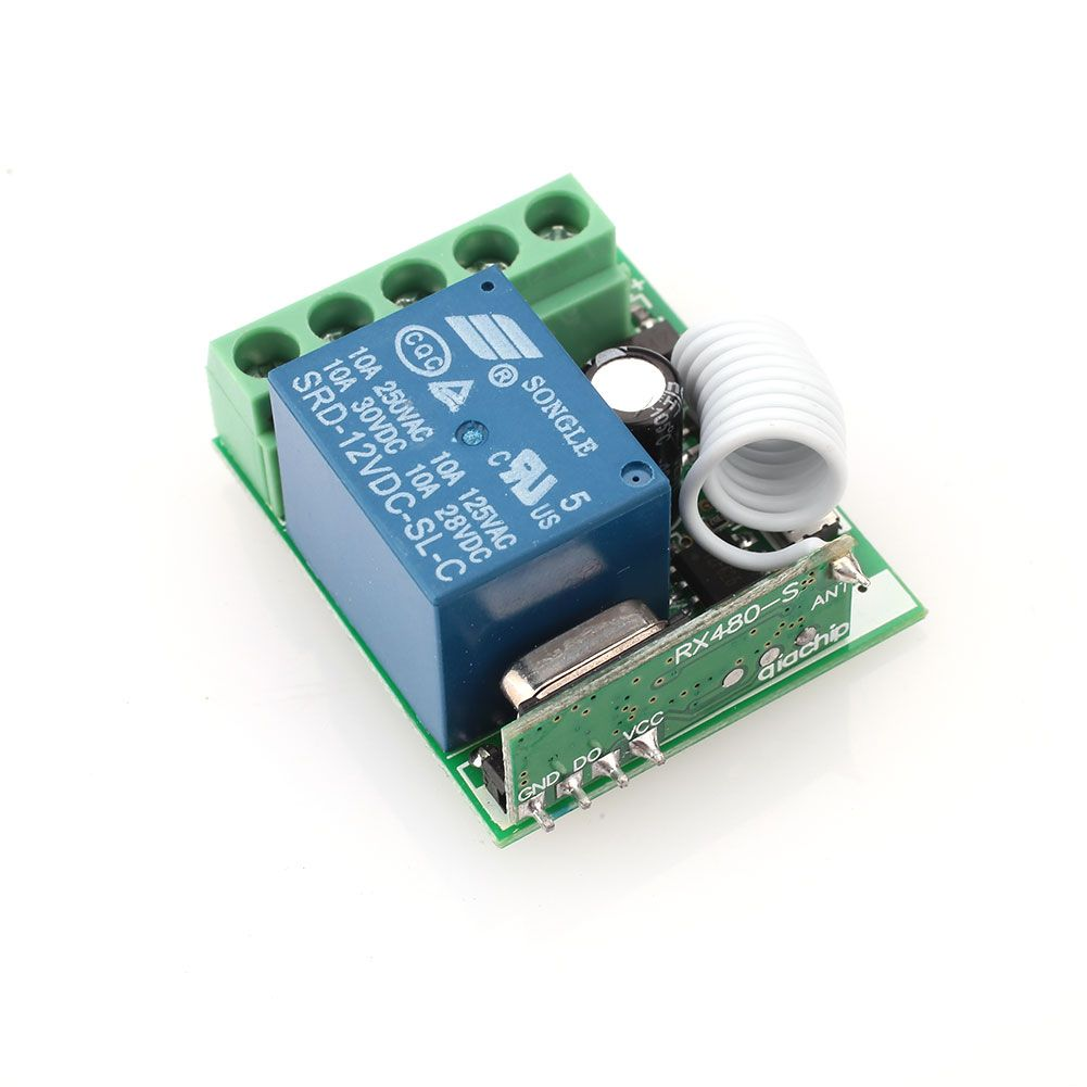 Click To Buy 1 Channel Receiver Wireless Rf Remote Control Switch Circuit Module